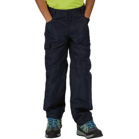 Regatta Sorcer II Zip-Off Trousers Kids, navy